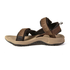 SOURCE Comfort Gobi Sandalias Hombre, marrón